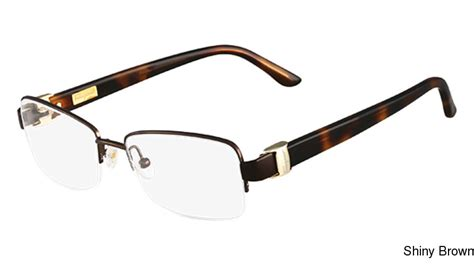 buy salvatore ferragamo sf2112 semi rimless half frame