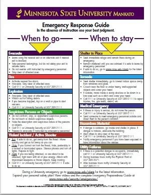 emergency preparedness university security minnesota