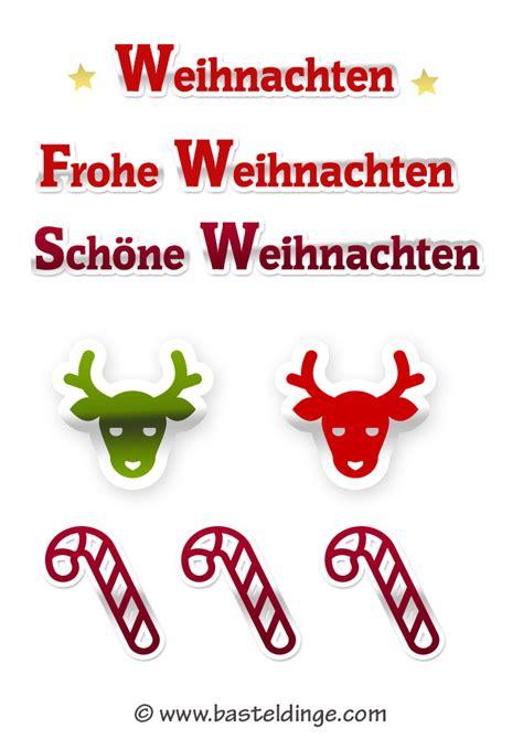 Aufkleber Frohe Weihnachten by Weihnachtliche Sticker Und Aufkleber Vorlagen Basteldinge