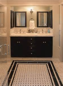 black and white bathroom tiles in a small bathroom 27 small black and white bathroom floor tiles ideas and