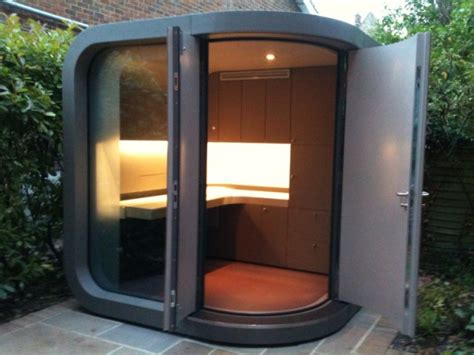 Small Space Homes For Sale Uk Small Garden Office Solution By Officepod The Garden