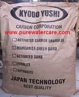 Pasir Mangan Zeolit manganese greensand