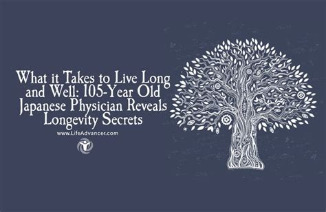 the longevity code secrets to living well for longer from the front lines of science books what it takes to live and well 105 year japanese