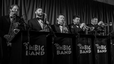 best swing bands mini big band swing band wedding band function band