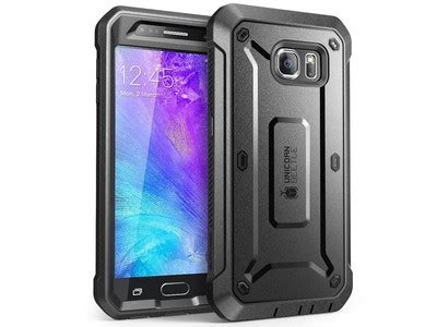 Samsung Galaxy S7 Flat Heavy Duty Rugged Armor Stand Casing best galaxy s7 cases android central