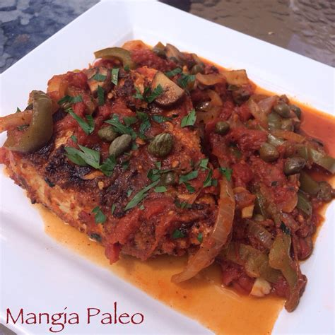 Mangia Healthy Kitchen by Paleo Chicken Cacciatore Mangia Paleo