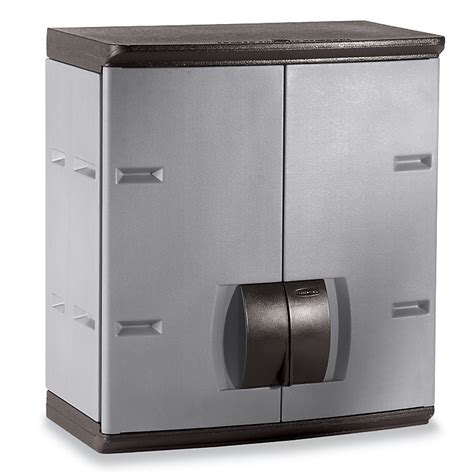 rubbermaid wall hung storage cabinet 24x14x27