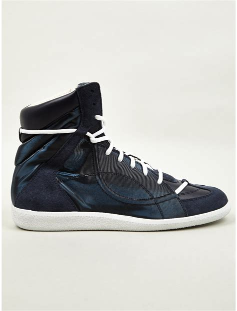 maison martin margiela sneakers for maison martin margiela 22 mens lace midtop sneakers