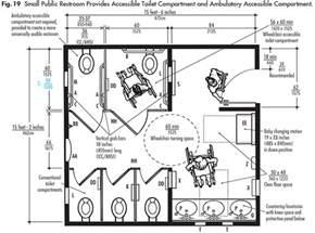 Ada Toilet Compartment Small Or Single Public Restrooms Ada Guidelines Harbor