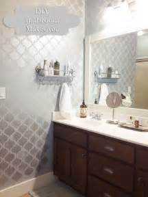 bathroom makeovers diy bathroom makeover and reveal entirely eventful day