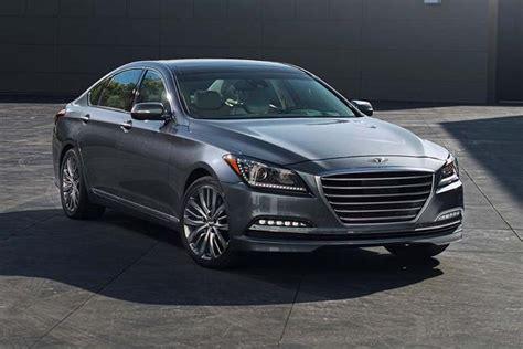 Hyundai Luxury Models by 2016 Hyundai Genesis New Car Review Autotrader