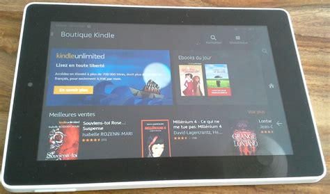 ebook format kindle fire hd test de la tablette fire hd 7 de amazon