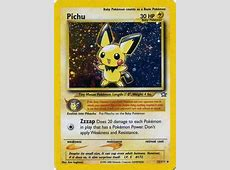 Pichu (Neo Genesis 12) - Bulbapedia, the community-driven ... Rarest Coin In The World