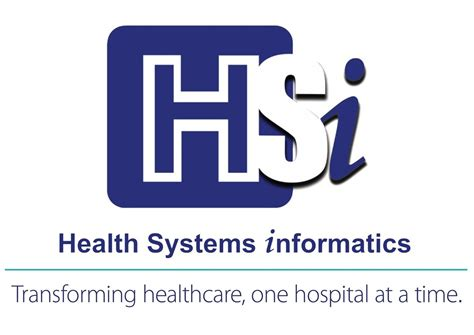 Mba Health Informatics by Health Systems Informatics Hsi Appoints