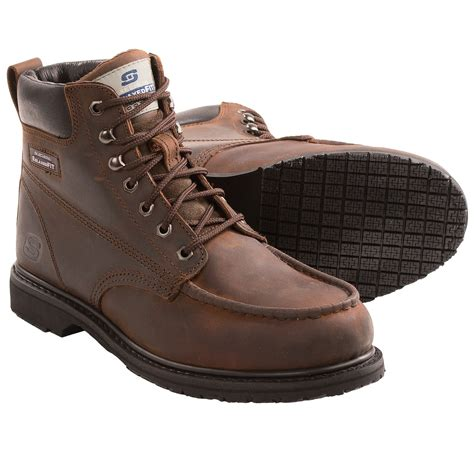 skechers work boots for skechers torre steel toe work boots for save 33