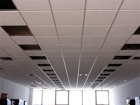 falso techo desmontable falsos techos para oficina e instalaciones lambdatres