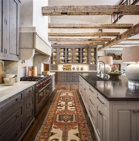 rustic grey kitchen cabinets country kitchen with gray stained pine kitchen cabinets
