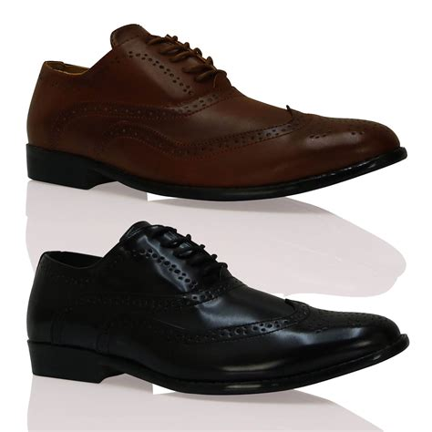 New Mens Male Stylish Lace Up Evening Brogues Comfortable