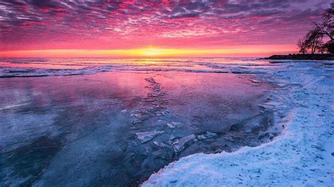 frozen jasper river hd beach wallpapers  mobile