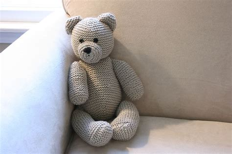 knitting pattern teddy bear diy knitted teddy bear free knitting pattern tutorial