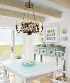 coastal kitchen table cottage aqua white ahhhh in the coastal living idea house