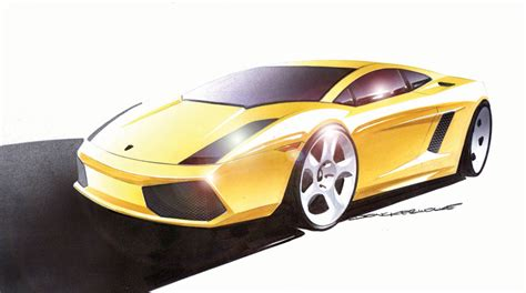 lamborghini sketch lamborghini gallardo 2004 supercar sketches