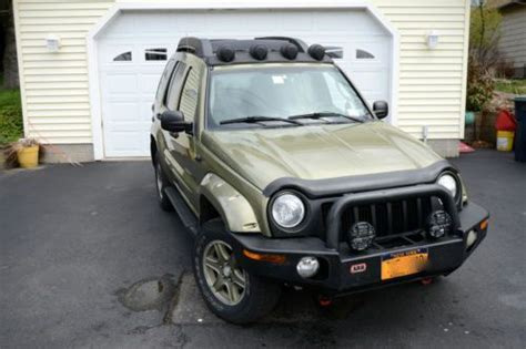 jeep liberty renegade light bar find used 2003 jeep liberty renegade with arb bull bar and