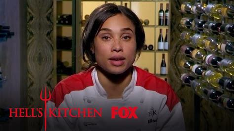 Hell S Kitchen All by Gordon Ramsay Makes Elise Apologize To The Customers