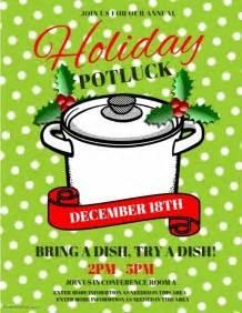 110 Customizable Design Templates For Potluck Postermywall Potluck Flyer Template Word