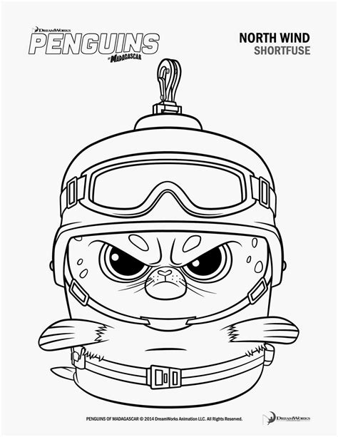 penguins movie coloring pages a geek daddy february 2015