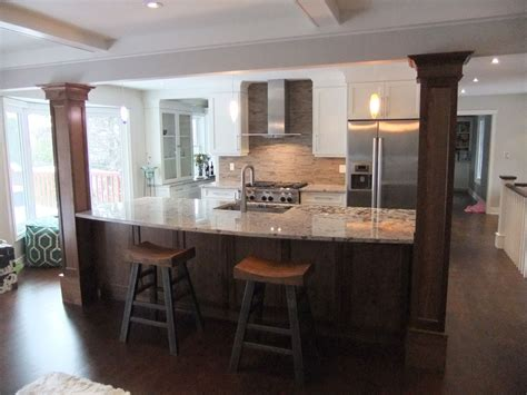 Kitchen Island Columns by Index Of Gallery Photos Kitchens Burlington Kitchen 1