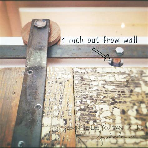 Barn Door Track Hardware How To Design The Life You Want Make Your Own Barn Door Track