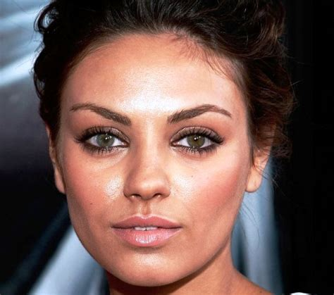 mila kunis eye color 25 with and differently colored