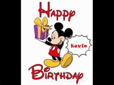 Imagenes De Cumpleaños Kevin | feliz cumplea 241 os kevin youtube