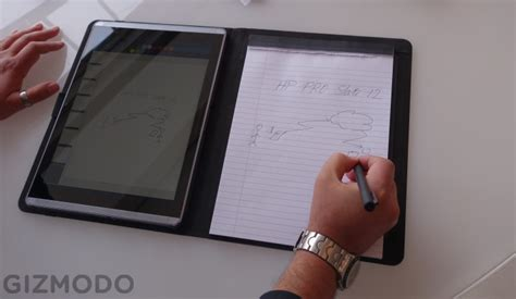 best tablet for writing papers hp s hybrid pen stylus is the best time i ve had writing