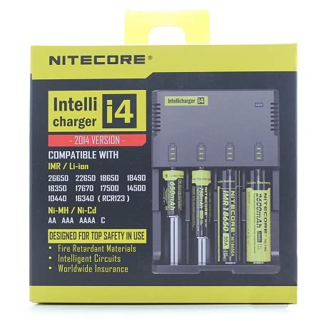 i4 charger review nitecore i4 charger