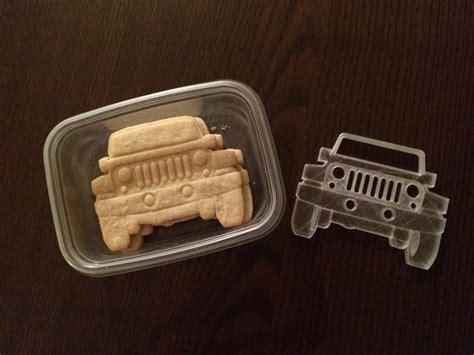 jeep cookies jeep wrangler cookie cutter by kswaid 3druk pinterest