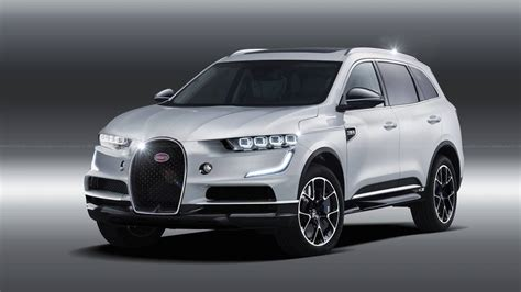 bugatti suv bugatti suv rendering previews the inevitable