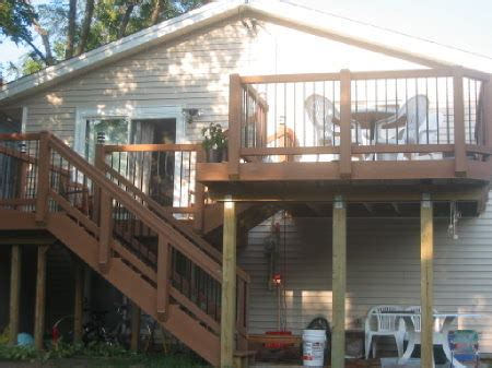 bi level deck and patio 12 steps with pictures