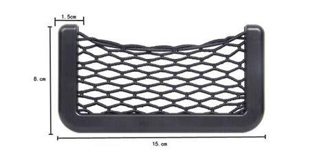 Owakantong Jaring Mobil Besar Car Net Organizer Pockets Bag kantong jaring jaring aksesoris mobil 14 5cm x 8cm black jakartanotebook