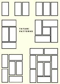 Tatami Mat Layout tatami layout based golden ratio inspiration