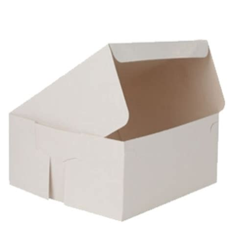 10 Inch Square Cake Box - cake boxes