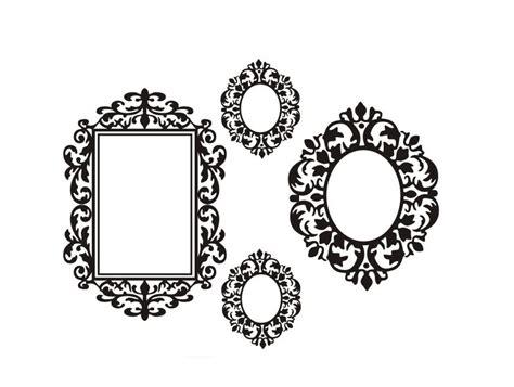 black mirror font free shipping home decor vinyl wall sticker black mirror