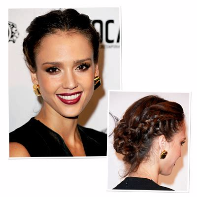 braided hairstyles jessica alba the double french braid 8 new ways to rock a braid