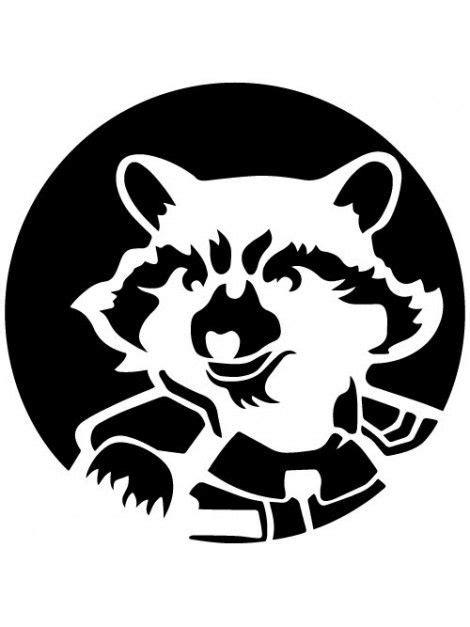 raccoon rocket lineart poisk  google rezkastal