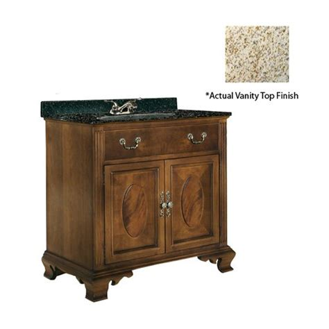 Kaco Vanity by Kaco 30 Quot Dorchester Single Sink Vanity W Gold Top Brown