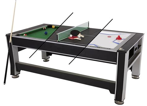 3 in 1 table top 10 best outdoor pool table in 2018