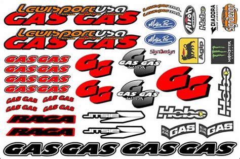 Gasgas Aufkleber Set by Gas Gas Stickers Page 2 Gasgas Riders Club Forum