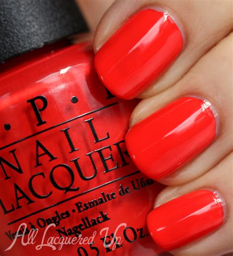 My Paprika Is Hotter Than Yours opi centrale 2013 nail swatches review all lacquered up