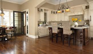 Hardwood Floor Kitchen